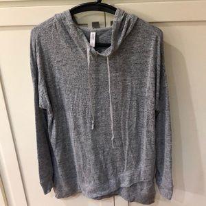 Gray sleepwear sweatshirt